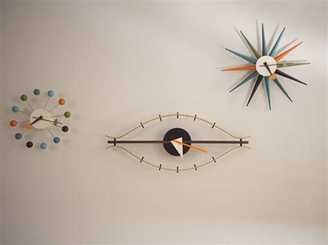 Vitra Eye Clock by George Nelson Eye Clock From Vitra Newlibrarygood