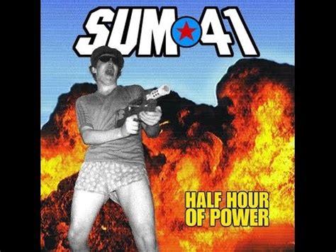 Kaset Sum 41 Half Hour Of Power cd review 31 sum 41 half hour of power