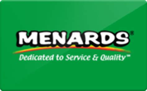 sell menards gift cards raise - Menards Gift Card