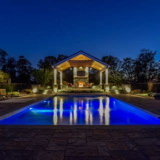 Custom Landscape Lighting Outdoor Lighting Md Dc Va Clearwater Landscape Nursery