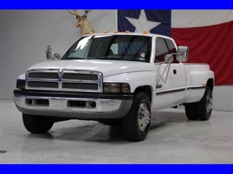 electric and cars manual 1999 dodge ram 3500 instrument cluster sell used 1999 ram 3500 5 9l cummins diesel 6 speed manual dually slt laramie extended in