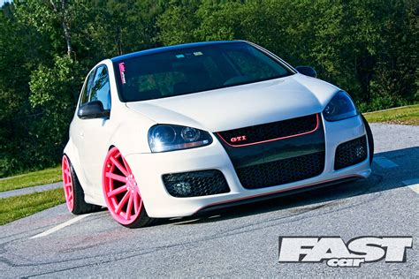 volkswagen golf gti stance stanced vw mk5 golf gti fast car