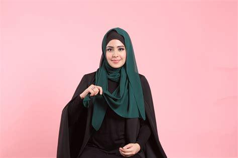 tutorial hijab pesta risty tagor trend hijab artis cantik risty tagor tutorial hijab