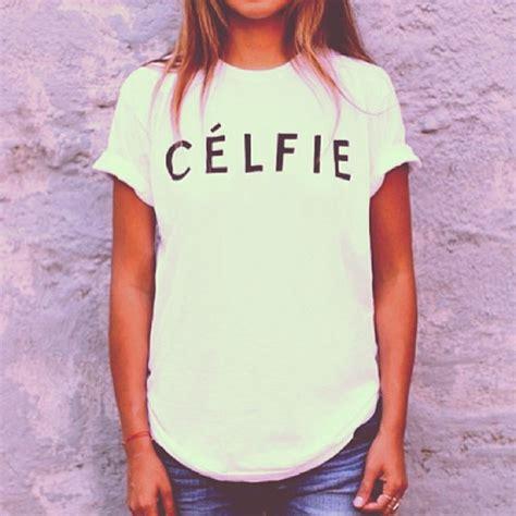 Celfie Dress shirt celfie selfie top t shirt vanityv