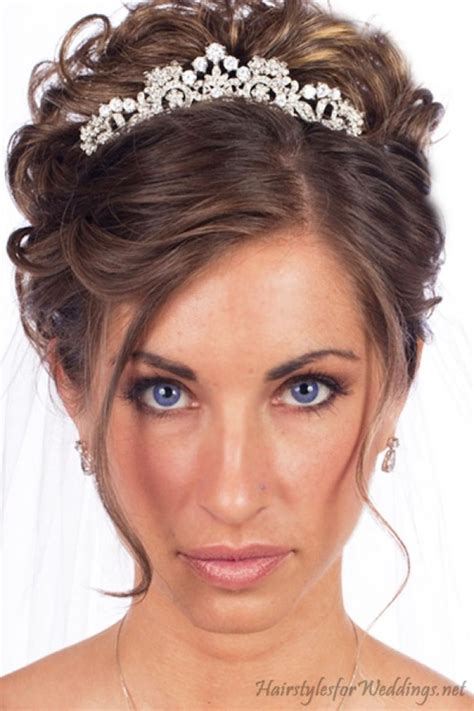 Bridal Hairstyles For Hair With Tiara by Wedding Hairstyles With Tiara Wedding