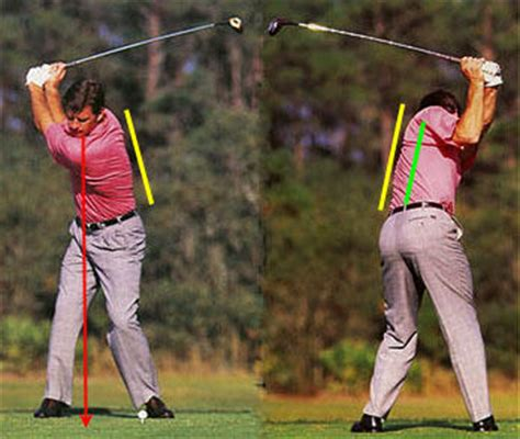 faldo golf swing optimal weight shift in the full