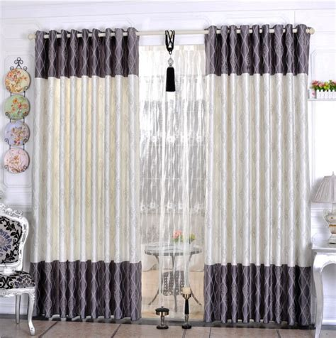 New Style Curtains Home Decorating Free Shipping Home Textile Curtain Design Jacquard Curtain Minimalist Modern Style Living Room