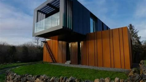 modern shipping container house in australia youtube shipping container house ireland youtube