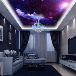 Purple Bedroom Decoration - purple galaxy wallpaper mural photo giant wall decor poster charming galaxies children living