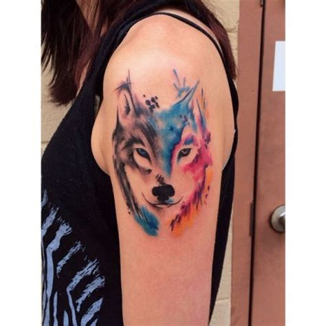 wolf tattoo designs tumblr 17 best ideas about watercolor wolf on