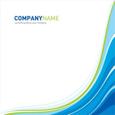 free layout company profile company template vector free download