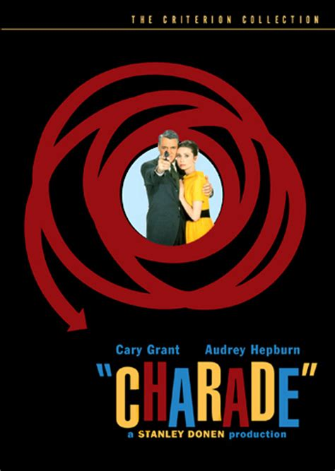 classic hollywood explore the criterion collection charade starring cary grant and audrey hepburn love this