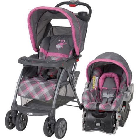 pink baby trend car seat baby trend travel system walmart