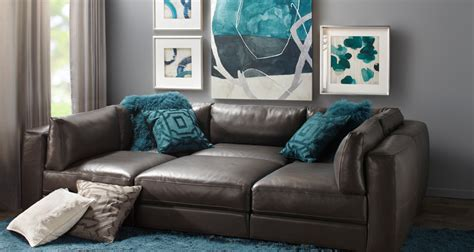 z gallerie leather sofa modular sofas affordable chic sectionals z gallerie