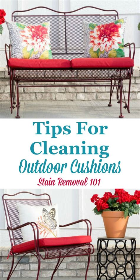Do Cleaners Clean Cushions by Tips For Cleaning Outdoor Furniture