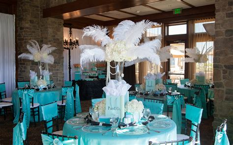 tiffany themed events social events 24 7 events