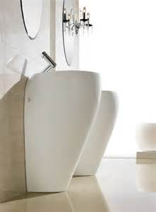 modern pedestal sink contemporary pedestal sink cerchio