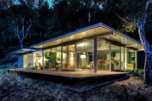 Backyard Guest House Plans Modular Glass Guest House Modern Exterior San