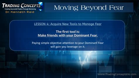 thriving through uncertainty moving beyond fear of the unknown and change work for you books moving beyond fear free webinar trading concepts inc