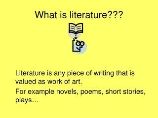 what is literature ppt the age of reason or the revolutionary period in