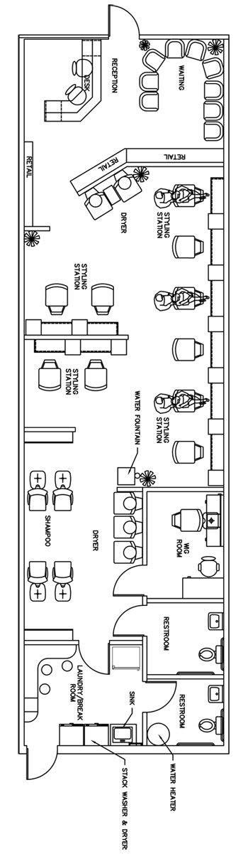salon spa floor plan design layout 3105 square foot salon floor plan design layout 1435 square feet salon