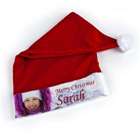 personalised christmas santa hats for babies kids adults