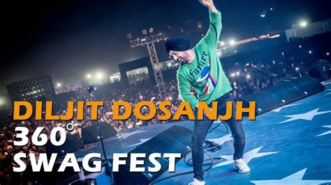Who Says A Concert Isnt Swag by Diljit Dosanjh Swag 360 View Of Concert