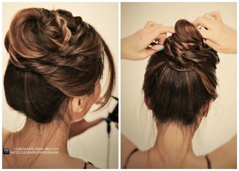 5 quick easy hairstyles for medium to long hair back to 2018 popular quick and easy updo hairstyles