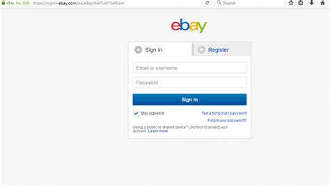 ebay login ebay login www ebay com sign in sign up my ebay usa uk