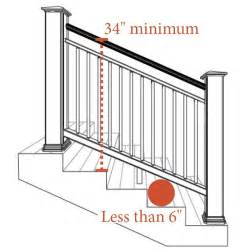 banister height best 25 deck stair railing ideas on outdoor