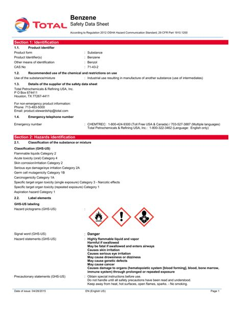 msds template australia 28 images type of business report