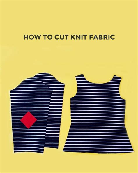 how to sew knit fabric on a sewing machine how to cut knit fabric