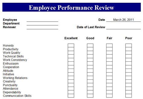 employee performance tracking spreadsheet sample employee performance review