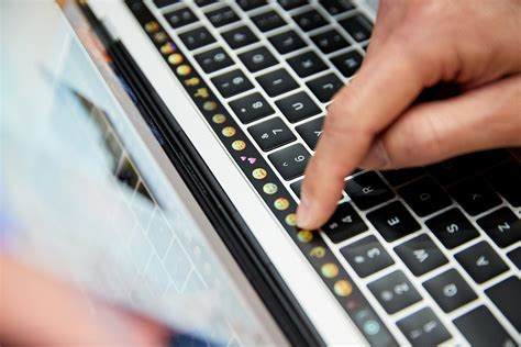 Mac Touch Bar the macbook s touch bar could signal keyboard changes