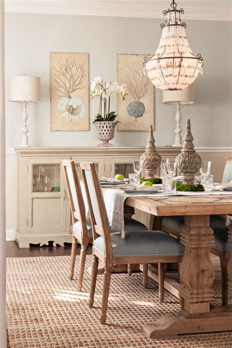 farm style dining room tables with style coastal