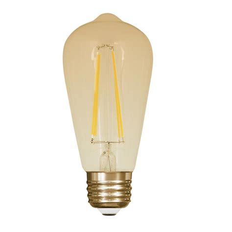 old style light bulbs feit electric 60 equivalent soft white st19 dimmable