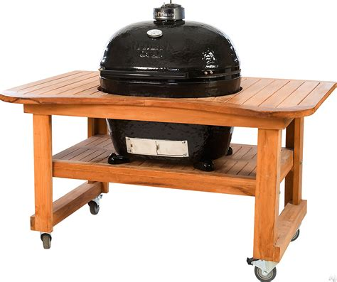 primo 778 28 quot freestanding ceramic kamado grill with 680