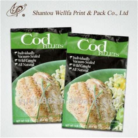 Food Packaging Kemasan Standing Pouch Hijau Zipper 14x23x4 1 C 500g 1kg slice fish frozen food packaging bag global sources