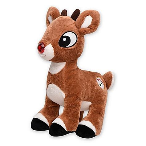 light up musical toys my 1st rudolph light up musical plush toy buybuy baby