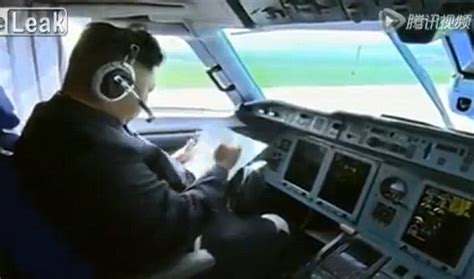 Airline Pilot Background Check Korea Release Of Jong Un Undergoing Pre Flight Checks Before Flying