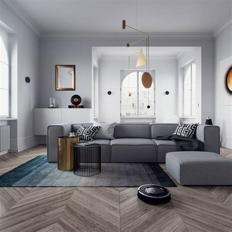 Home Scene Interiors | triangleform vol 2 home equipment cg daily news
