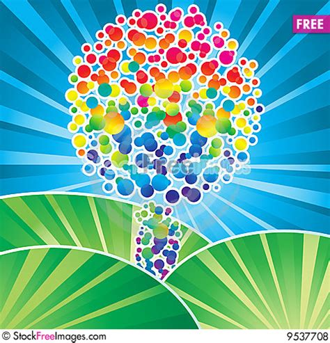 Color Tree color tree free stock images photos 9537708