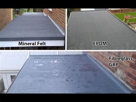 flat roof waterproofing membrane materials