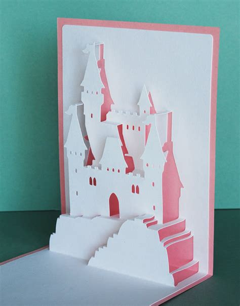 Cinderella Pop Up Card Template by Princess Castle Pop Up Card Princess Castle Popup And