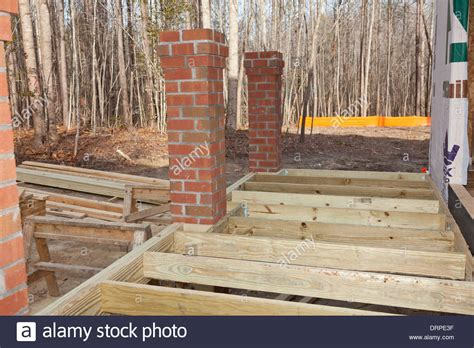 wooden porch posts and columns the rickety brick house new home construction wood framing details of a porch with
