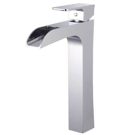 quot waterfall quot vessel faucet rona