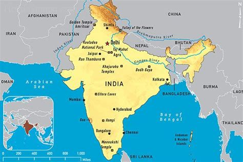 printable version of india map india political map holidaymapq com