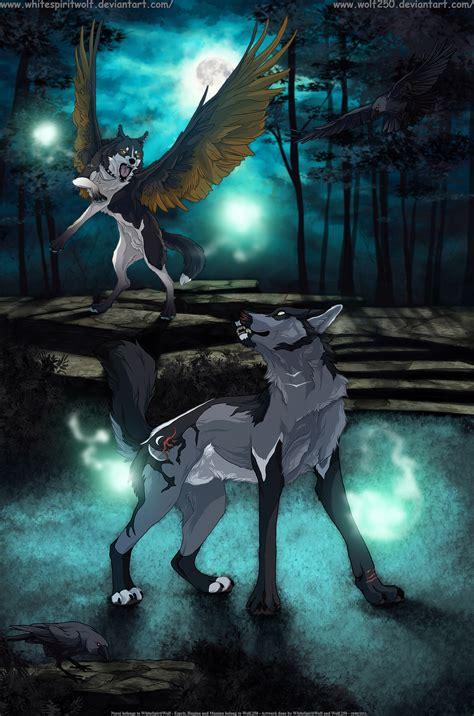 Sprei Karakter Mr Wolf And Friend Whitespiritwolf Jess Deviantart
