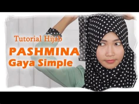 youtube tutorial pashmina tutorial hijab pashmina simple youtube