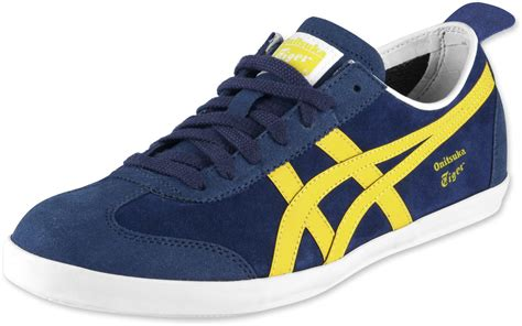 Asics Onitsuka Tiger Mexico Sepatu Sneakers Pria onitsuka tiger mexico 66 vulc su shoes blue yellow